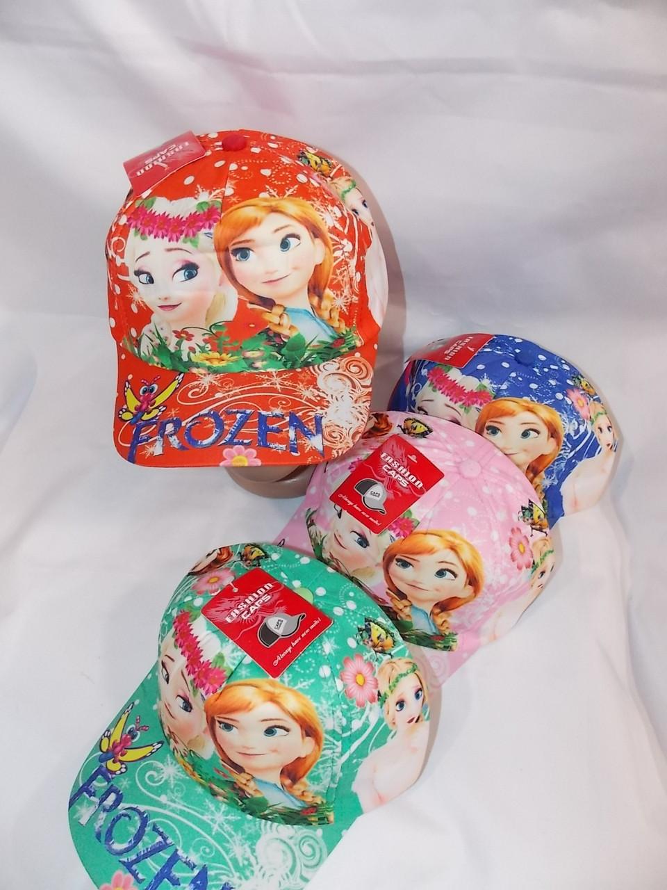 Кепка для девочек  р-р 50-54 (разные расцветки) оптом недорого. Одесса.
