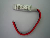 RGB контроллер без пульта 12/24V; 2A/канал (мини корпус)