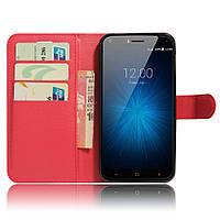 Чехол-книжка Litchie Wallet для Umi London Красный