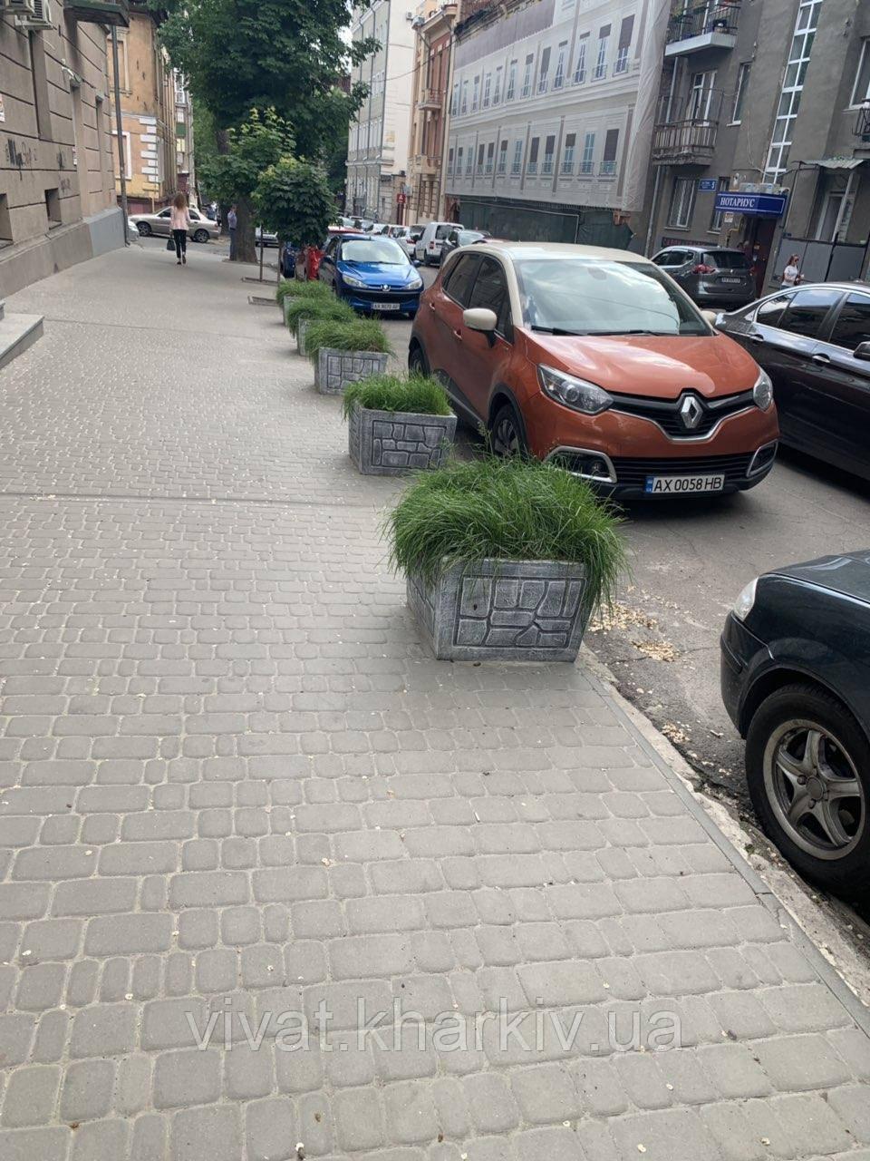 "Цветочник бетонный ""Кадушка"""