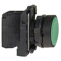 XB5AA31 Кнопка 22мм зеленая с возвратом Schneider Electric