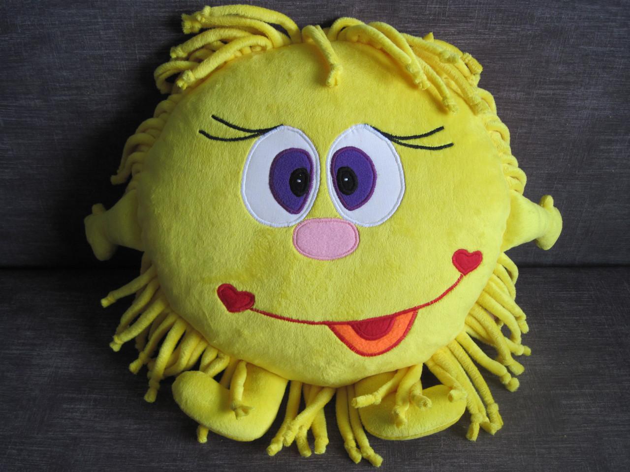 Мягкая игрушка - подушка Солнце ручная работа