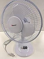 Вентилятор настольный Domotec MS-1624,мощность 30W