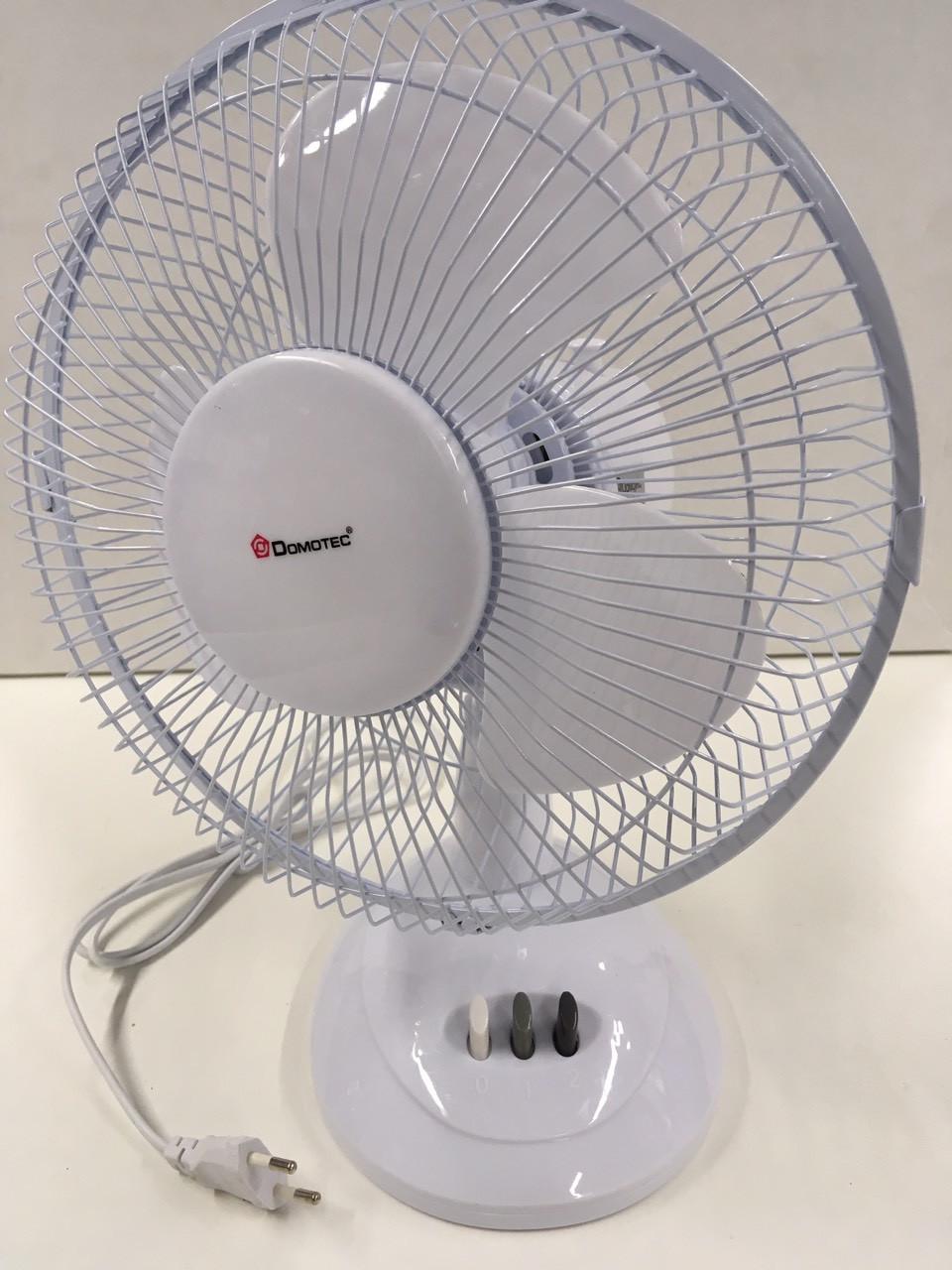 Вентилятор настольный Domotec MS-1624, 30W