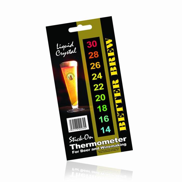 Термометр самоклеющийся для ферментера Better Brew Stick-On-Thermometer