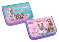 Пенал KIDIS 1отд. картонный BEST FRIEND