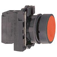 XB5AA42  Кнопка 22мм красная с возвратом Schneider Electric