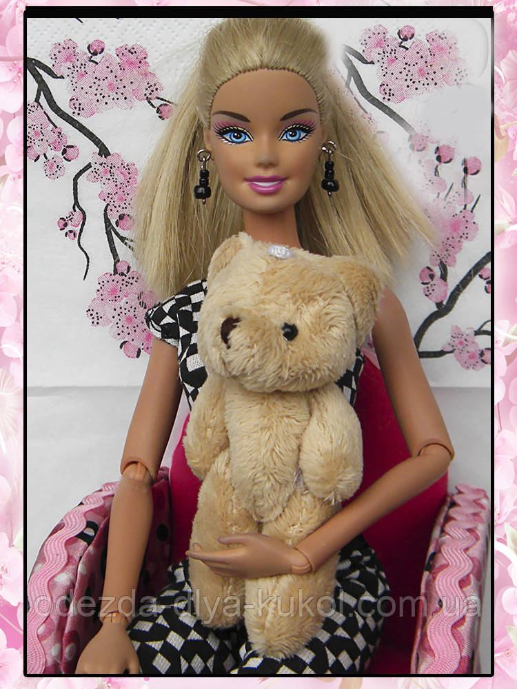 Плюшевый медведь (аксессуары для кукол)