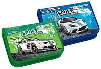 Пенал KIDIS 1отд. картонный Sport Car