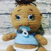 Лялька ручної роботи пупс