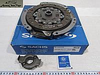 Набор выжимного сцепления ВАЗ 2108, 2109, 21099, диск, корзина сцепления, выжимной подшипник Sachs 3000-951-211