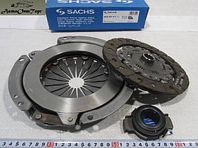 Набор сцепления ВАЗ 2108, 2109, 21099, диск, корзина сцепления, выжимной подшипник Sachs 3000-951-211, фото 2