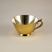 Срібна чашка з позолотою