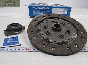 Набір зчеплення ВАЗ 2108, 2109, 21099, диск, корзина зчеплення, вижимний підшипник Sachs 3000-951-211, фото 3