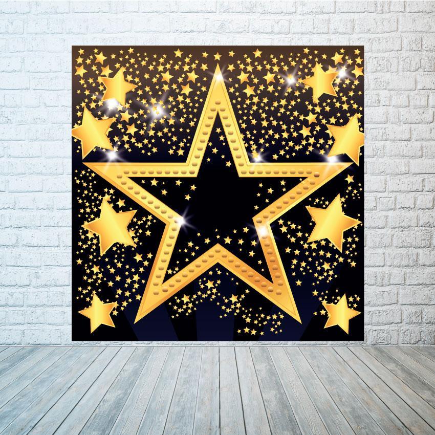 Баннер фон Большая звезда