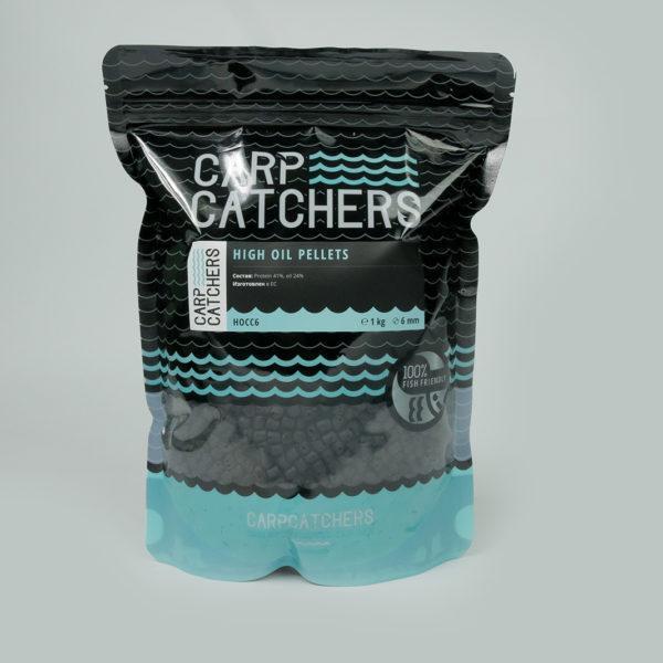 Пеллетс Carp Catchers «High Oil Pellets», 6 mm, 1 кg