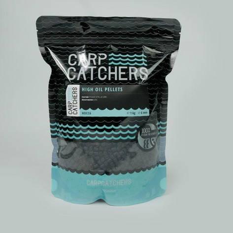 Пеллетс Carp Catchers «High Oil Pellets», 6 mm, 1 кg, фото 2