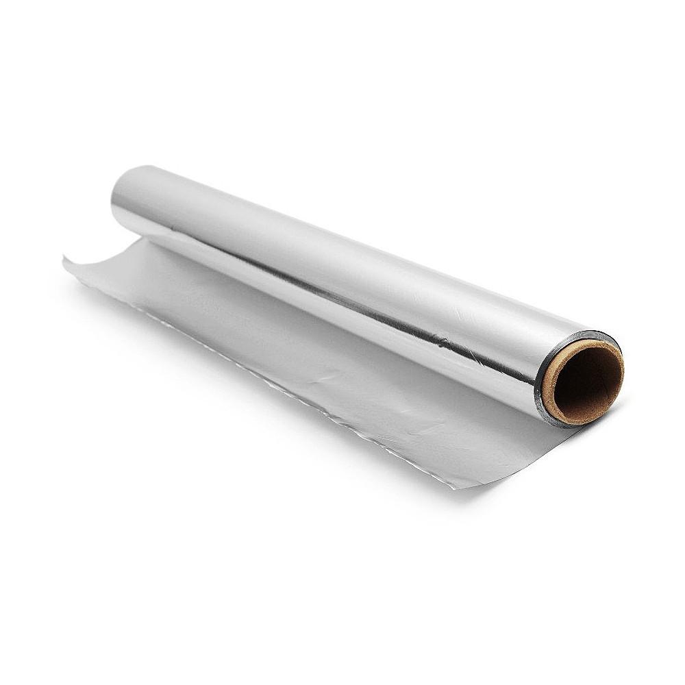 Фольга алюминиевая пищевая, 0,44х100 м, 11 мкм