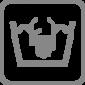 Ліжко Sammy Trixie чорно-бежевий діаметр 70 см, фото 4