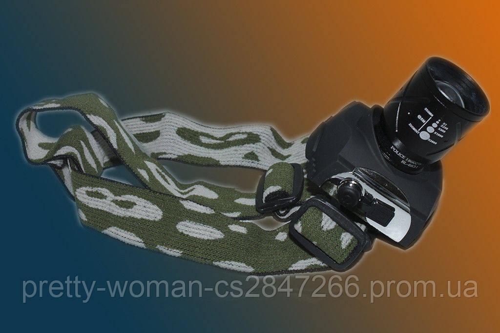 Налобный фонарь POLICE BL-6631 6000W