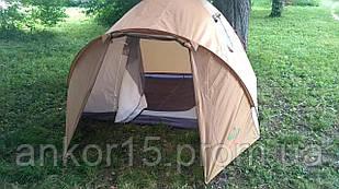 Палатка 4-х местная GreenCamp 1004 (335x250x180 см)