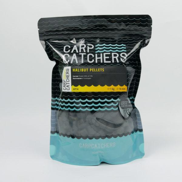 Пеллетс Carp Catchers «Halibut Pellets», 14 mm, 1 кg