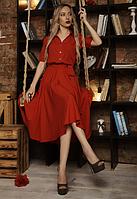 """Шикарное платье """"Марианна"""" размер 42,44,46,48,50 красное"""