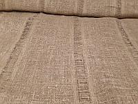 Льняная сетчатая ткань натурального цвета (шир. 105 см)