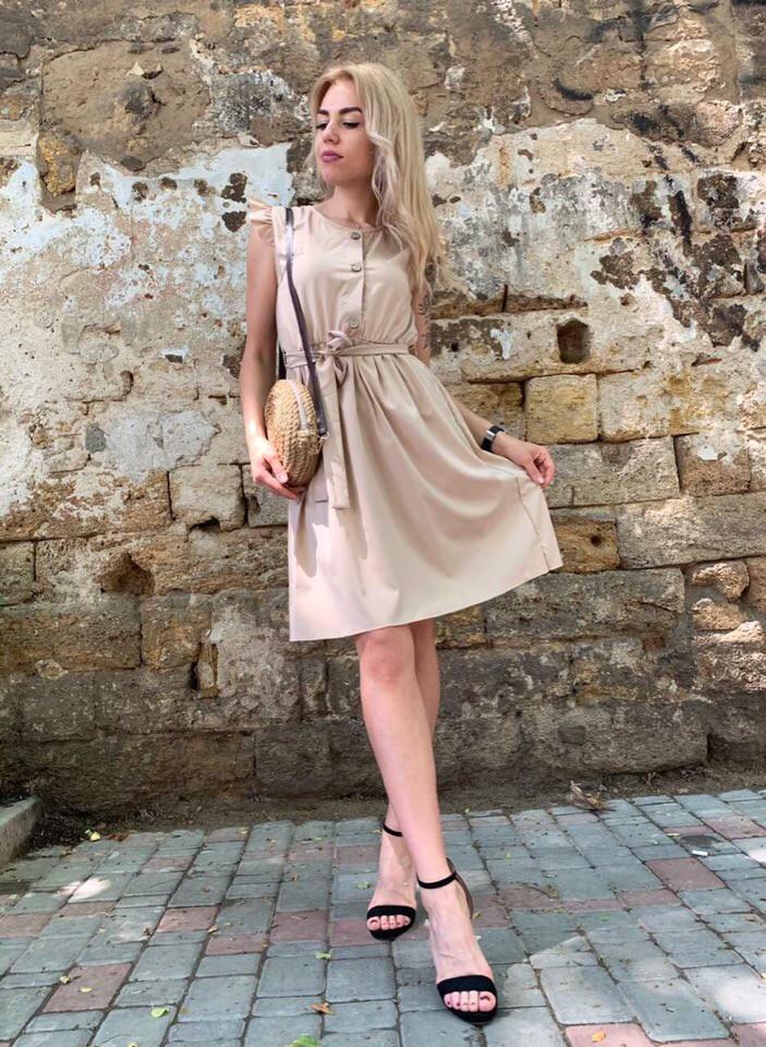 Женское модное платье  РД1163