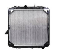 Радиатор Mercedes 1520   NRF