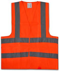 Жилет сигнальный Technics универсальный оранжевый (16-631)