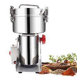 Мини мельница Vilitek VLM-16 800 г 2200 мл домашняя мукомолка для зерна измельчитель сахара трав кофе