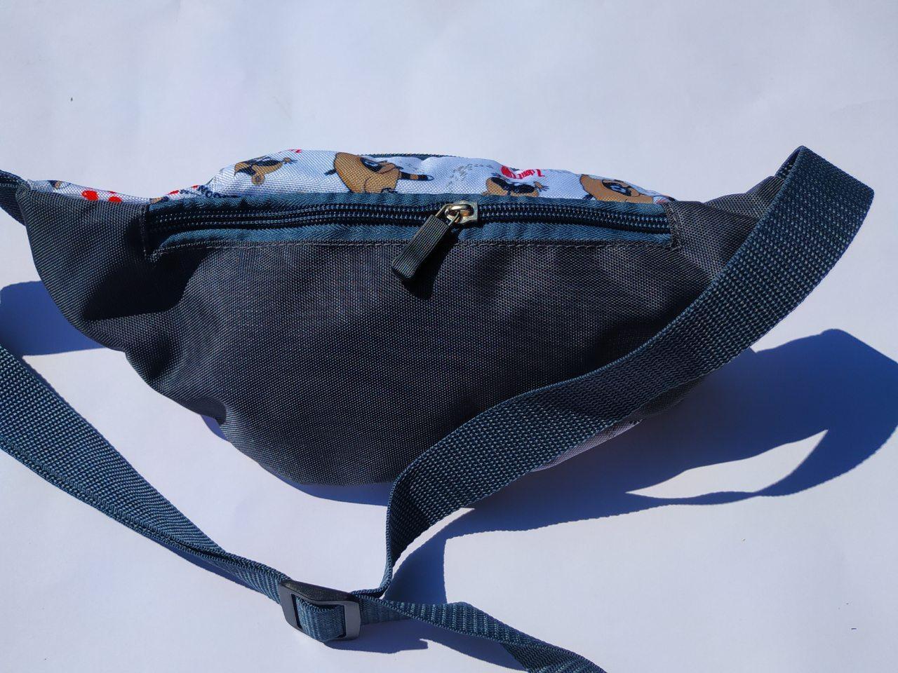 Поясная сумка Бананка сумка на пояс тканевая с ярким принтом женская м 5