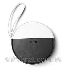 Оригинальный кошелек MINI Round Colour Block Pouch, White/Black (80212460853)
