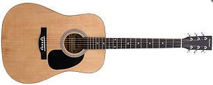 Акустична гітара MAXTONE WGC4011 (NAT) Дредноут / вестерн, фото 2