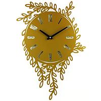 Настенные Часы Glozis Willow 55х40 см Бронзовый (B-021)