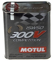 Масло моторное 15W50 2L MOTUL 300V COMPETITION