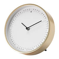 Часы IKEA PANORERA 15 см Бело-золотистый (503.946.79)