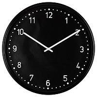 Часы настенные IKEA BONDIS Черный (701.524.67)