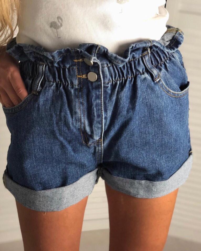 6ebe08798952 Новинка 2019! Модные, женские, джинсовые шорты на резинке: продажа, цена в  Харькове. ...