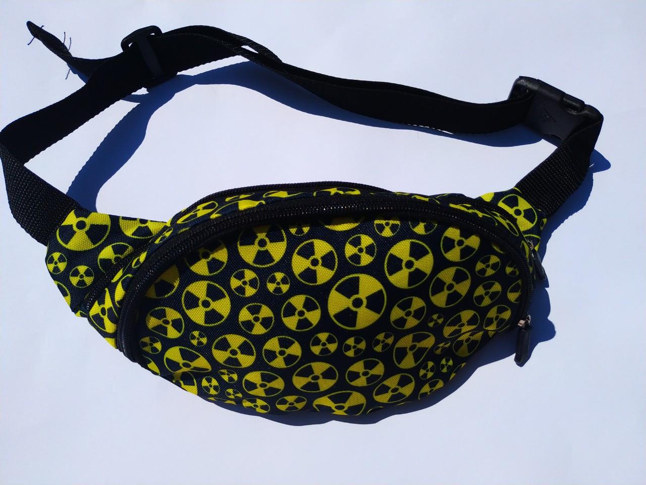 Поясная сумка Бананка сумка на пояс тканевая с ярким принтом женская мужская детская.