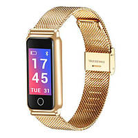 Фитнес-браслет Smart Band UMax Y8 3D дисплей Тонометр Золотой (xpMR76120)