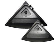 Крышка для аквариума Природа Люкс УГ  57 черная