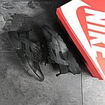 Мужские кроссовки Nike Air Huarache (черные) , фото 4