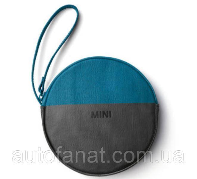 Оригінальний гаманець MINI Round Colour Block Pouch, Island/Black (80212460855)