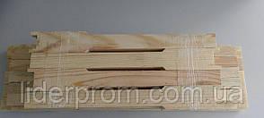Рамка Украинская Узко-высокая  10 штук. Комплект заготовок 10 ульевых рамок., фото 2
