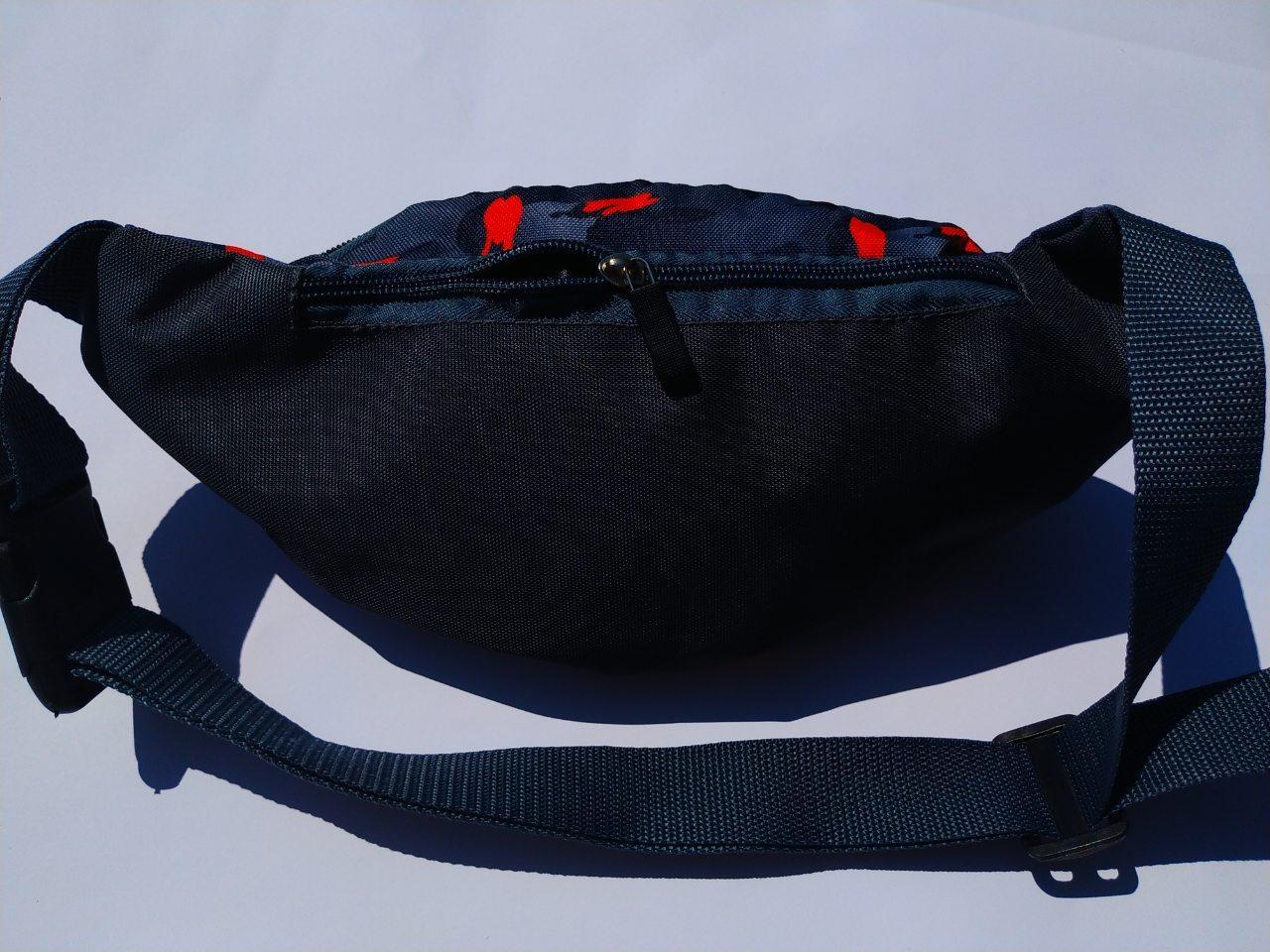 Поясная сумка Бананка сумка на пояс тканевая с ярким принтом женская м 2