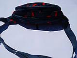 Поясная сумка Бананка сумка на пояс тканевая с ярким принтом женская мужская детская., фото 3