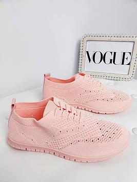Кроссовки женские Лето розовые