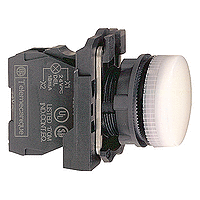 XB5AVB1  Сигнальная лампа 22мм 24В белая Schneider Electric